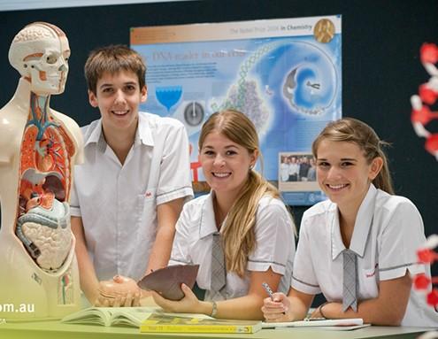 Benowa SHS: Biologieunterricht