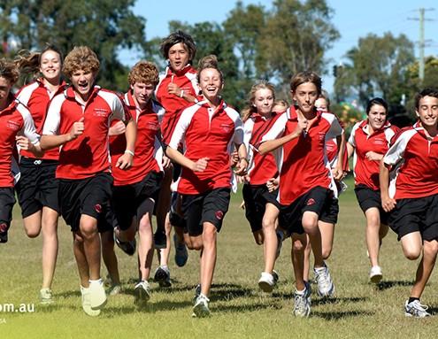 Benowa SHS: Sportunterricht