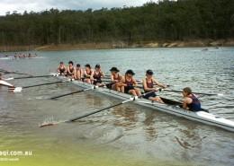 Brisbane SHS: Rudergruppe der Frauen