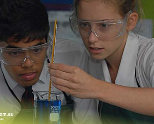Brisbane SHS: Chemieunterricht