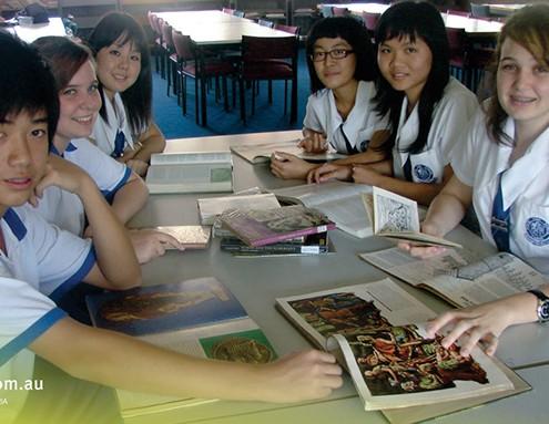 Cairns SHS: Geschichtsunterricht