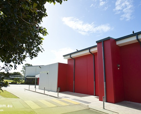 Centenary SHS: Schulgebäude