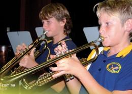 Cleveland District SHS: Trompetenunterricht