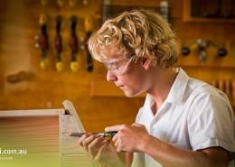 Elanora SHS: schuleigene Holzwerkstatt