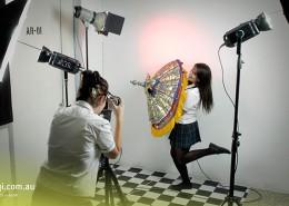 Elanora SHS: schuleigenes Fotostudio
