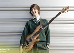 Ferny Grove SHS: Bassist der Schulband