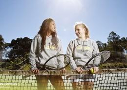 Ferny Grove SHS: Tennis-Spielerinnen