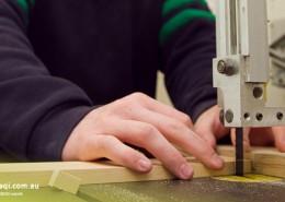 Helensvale SHS: schuleigene Holzwerkstatt