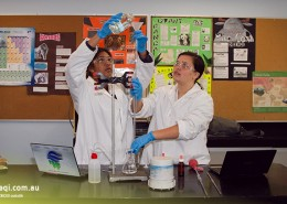 Helensvale SHS: Chemieunterricht