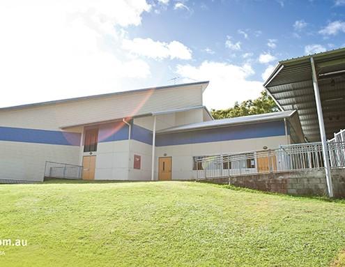 Indooroopilly SHS: Schulgebäude
