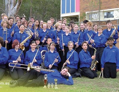 Indooroopilly SHS: Big Band
