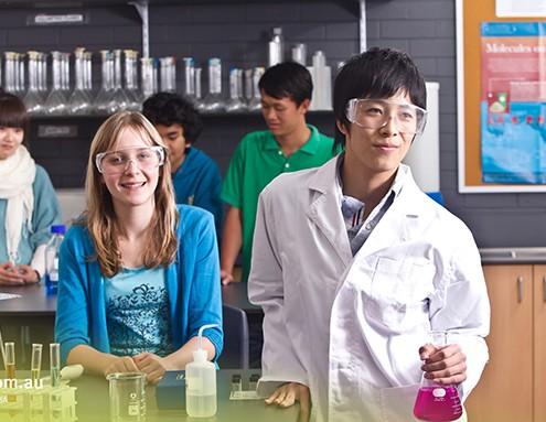 Indooroopilly SHS: Chemieunterricht