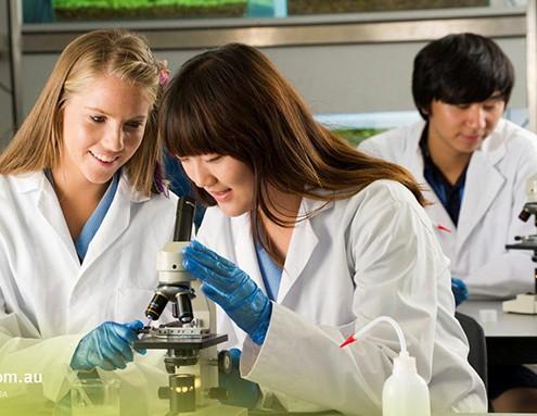 Kawana Waters State College: Biologieunterricht
