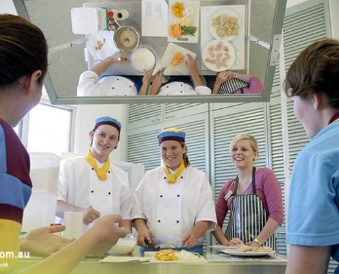 Keebra Park SHS: schuleigene Küche