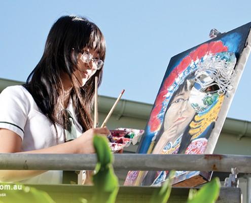 Kenmore SHS: Kunstunterricht