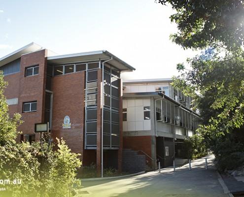 Kenmore SHS: Schulgebäude