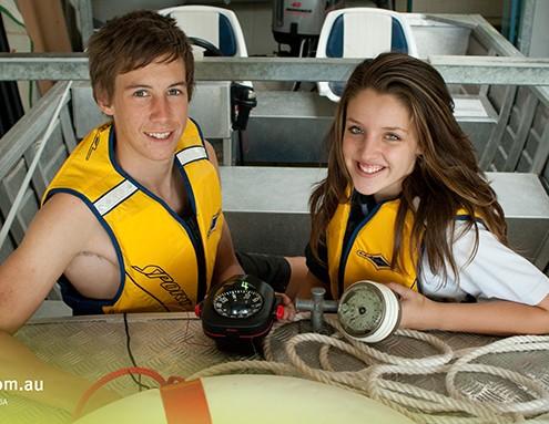 Merrimac SHS: schuleigenes Motorboot