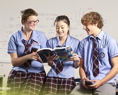 Mitchelton SHS: Mathematikunterricht