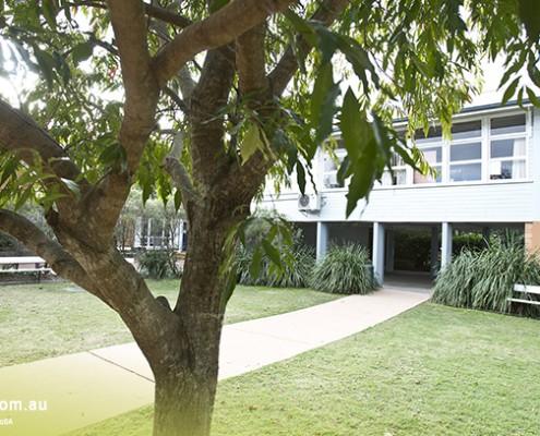 Mitchelton SHS: Schulgebäude