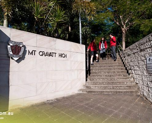 Mount Gravatt SHS: Außengelände