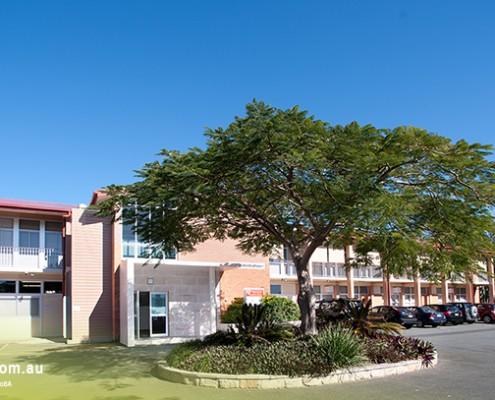 Mount Gravatt SHS: Schulgebäude