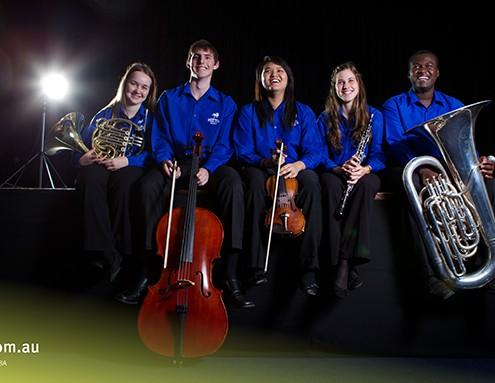 Pimplico SHS: Teil des Schulorchesters
