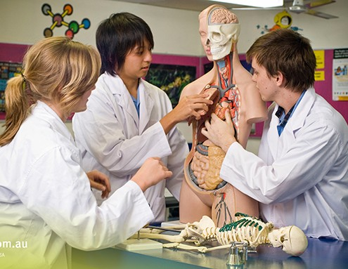 Robina SHS: Biologieunterricht