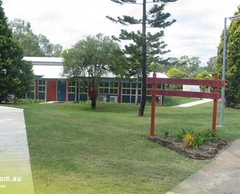 Rochedale SHS: Schulgebäude