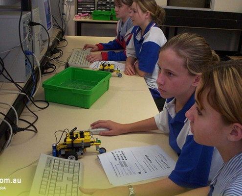 Rochedale SHS: Elektronik-Unterricht