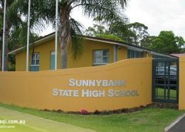 Sunnybank SHS: Eingang