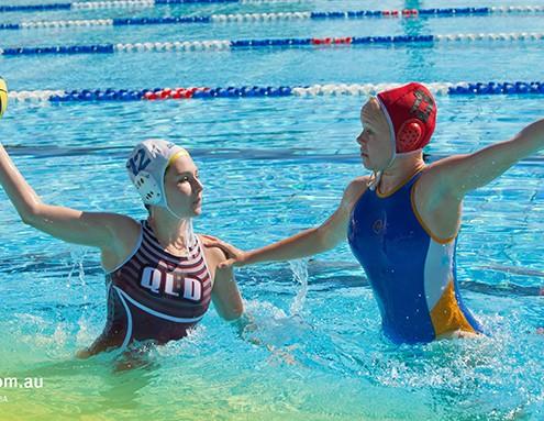 Sunshine Beach SHS: Wasserball-Training