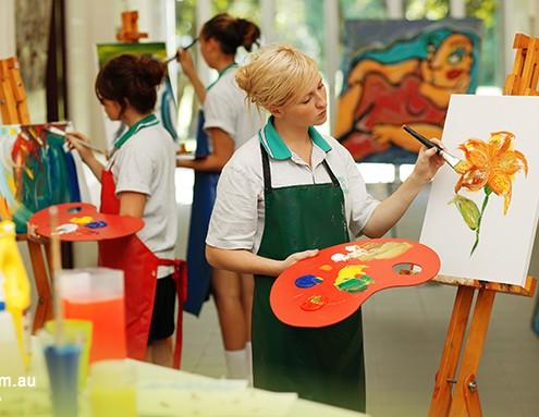 Trinity SHS: Kunstunterricht