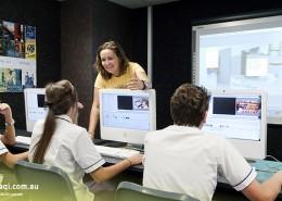 Upper Coomera State College: Multimediaunterricht