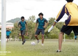 Upper Coomera State College: Fußballtraining