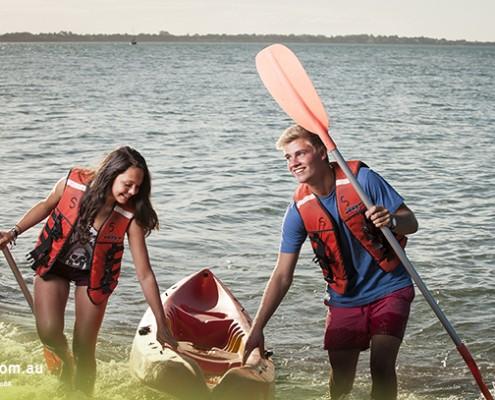 Urangan SHS: Kayak-Training