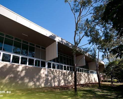 Whites Hill State College: Schulgebäude