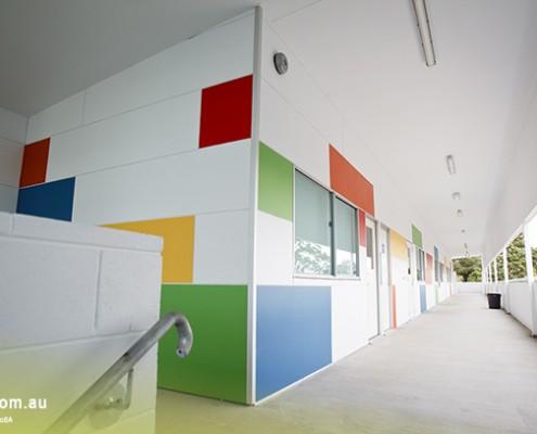 Yeronga SHS: Schulgebäude