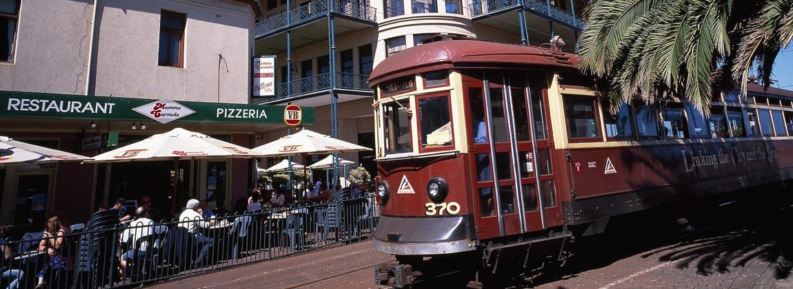 Adelaide Glenelg Tram