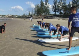 Chancellor State College: Surf Training