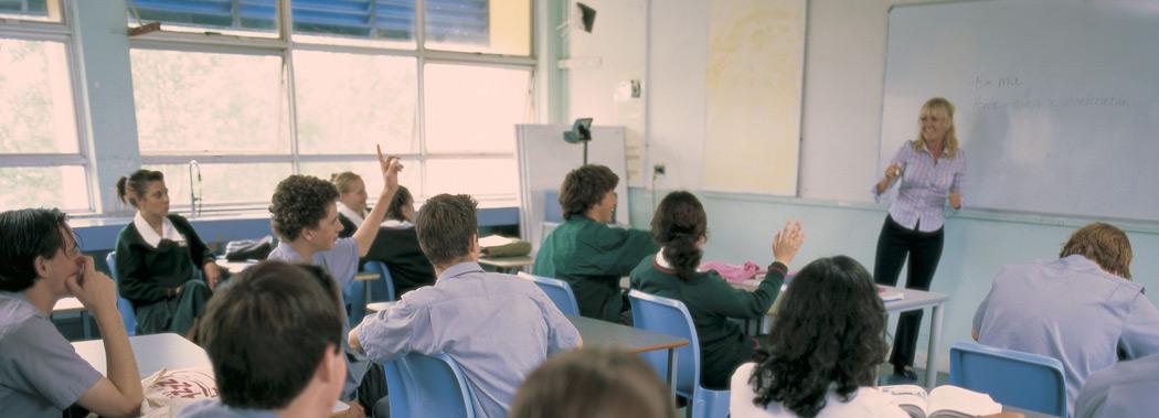 Kelvin Grove SHS Klassenzimmer