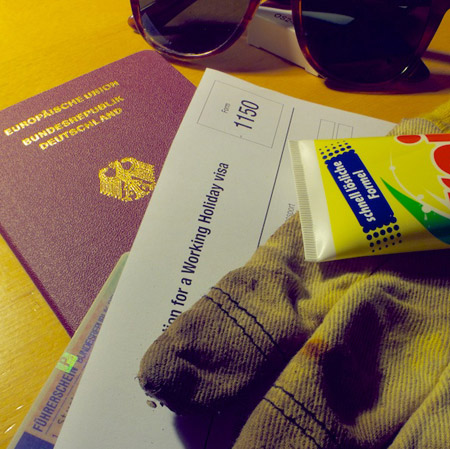 Work and Travel: Packliste