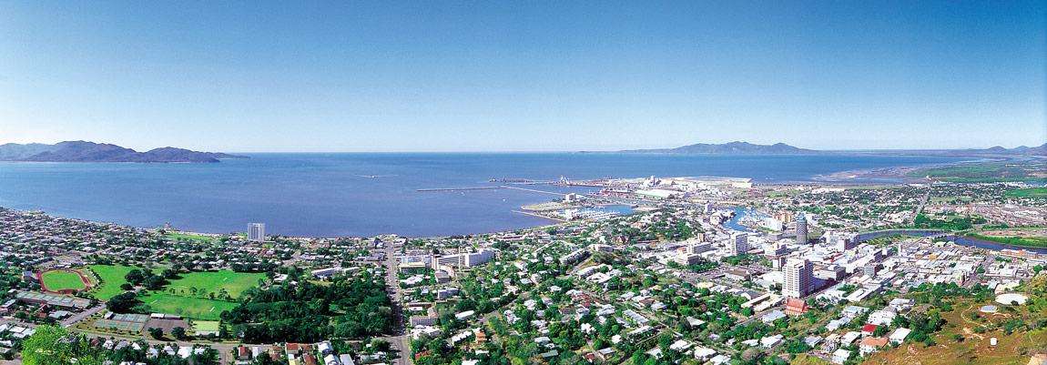 Townsville - Blick vom Castel Hill