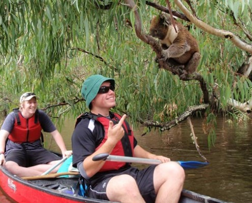 Victor Harbor HS: Canoeing Trip