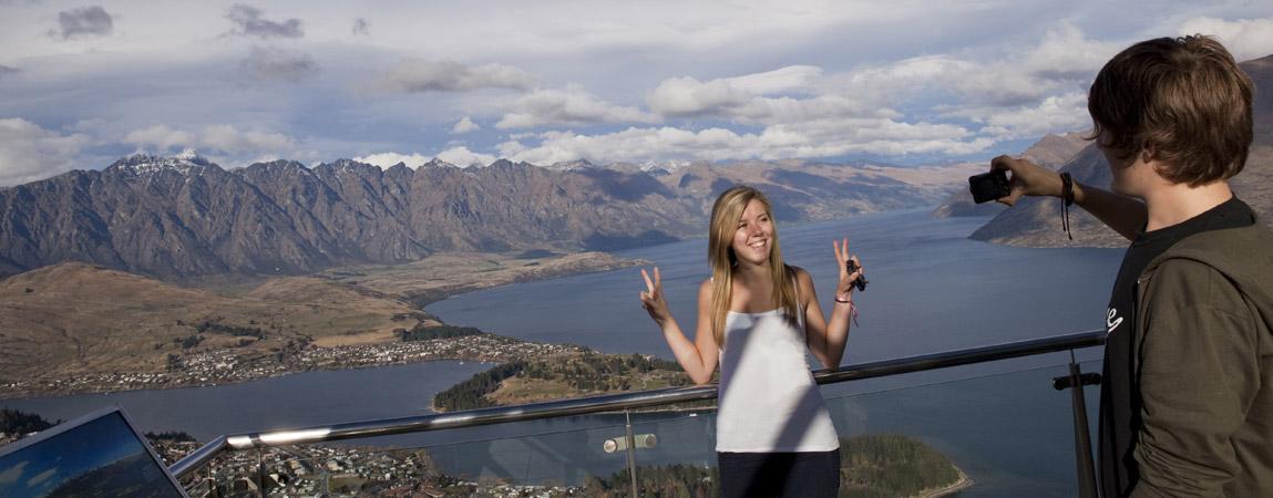 Auslandsjahr Neuseeland: Ein Lächeln über Queenstown