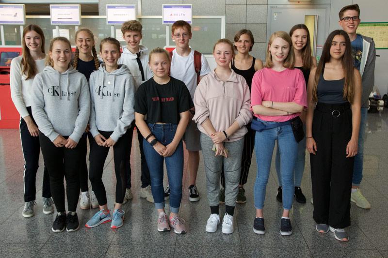 Gruppenflug nach Brisbane
