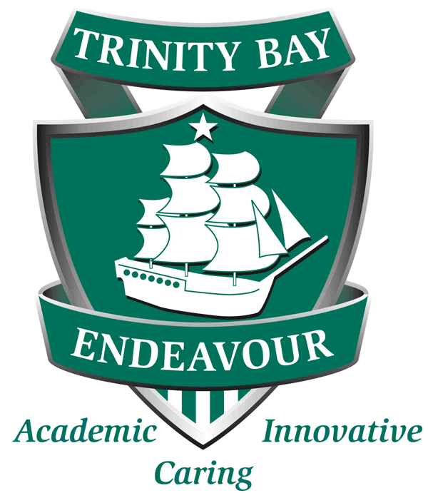 Trinity Bay State High School Logo