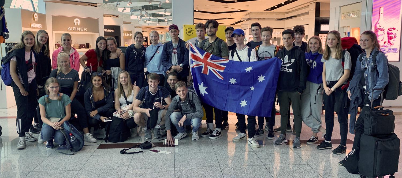 Gruppenflug nach Brisbane 2019