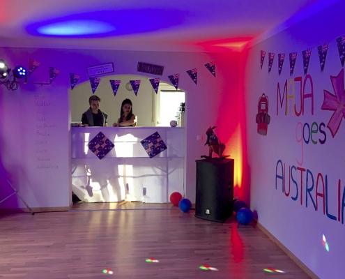 Majas Abschiedsparty 1