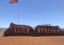 Alice Spring Sign