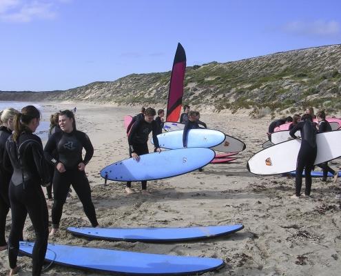 11. Immanuel College Surfing Camp
